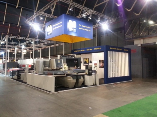 Techni-Show 2014: HACO Netherlands releases new high speed press brake EUROMASTER S
