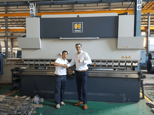 Sima Lohaphan uses 8 HACO machines for their production