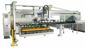 sheet transfer punching machine