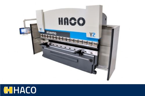 Sheet metal press brake: bending - Haco