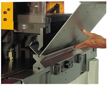 Combining A Vari Notching Machine With A Bending Or