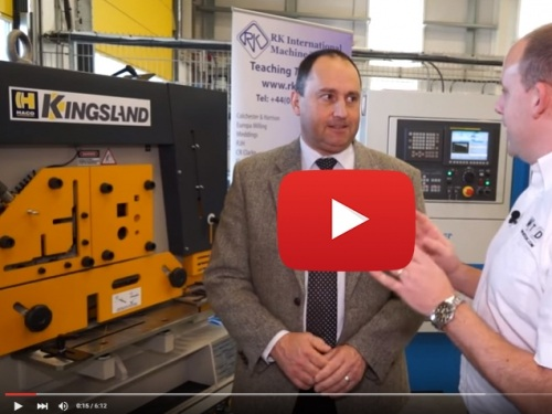 VIDEO: Kingsland CEO Bernard De Muynck about the main features of Kingsland steelworkers