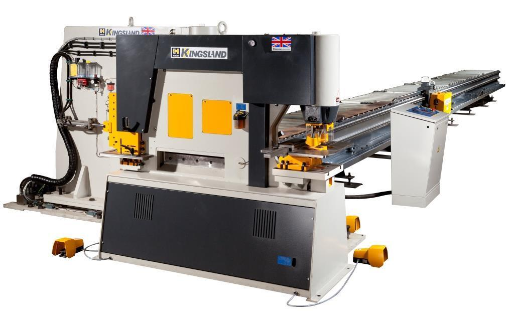 Cnc Punch Cutting Line For Flat Bar Haco