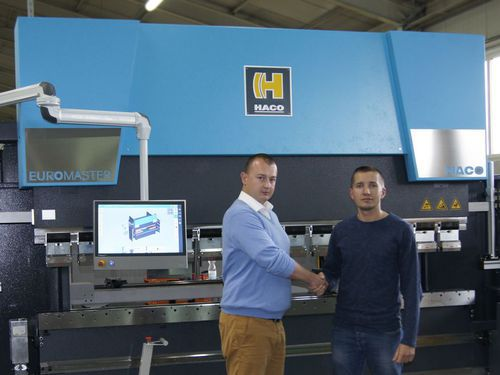 EKOLINA welcomes its first Euromaster-S 30250