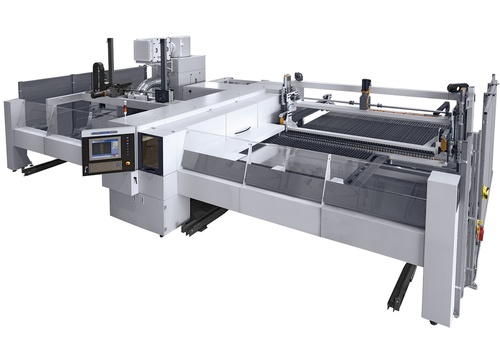 HACO fiber laser cutting machines with 'Parallel Kinematics Technology'