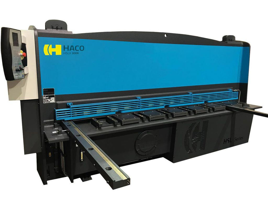 Our fully automated guillotine type shears - Haco