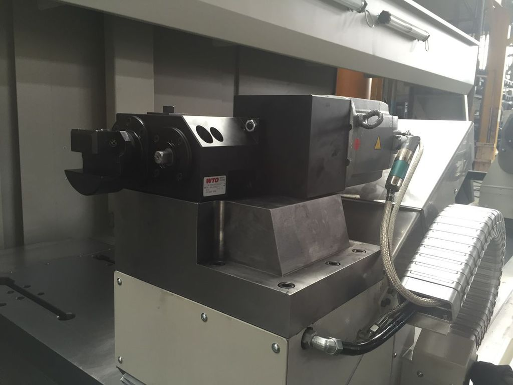 Start up of the TUR MN 1350 x 4000 lathe for Lebus® threads