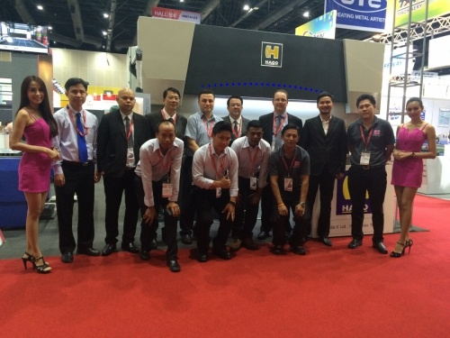 HACO and Procurement Centre display EUROMASTER S at METALEX (Bangkok)