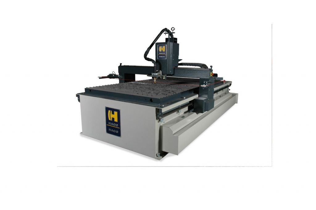 A Plasma Cutting Machine With Integrated Fume Exhaust