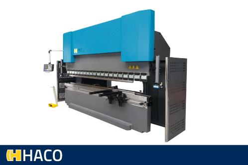 Sheet metal press brake: bending - Haco