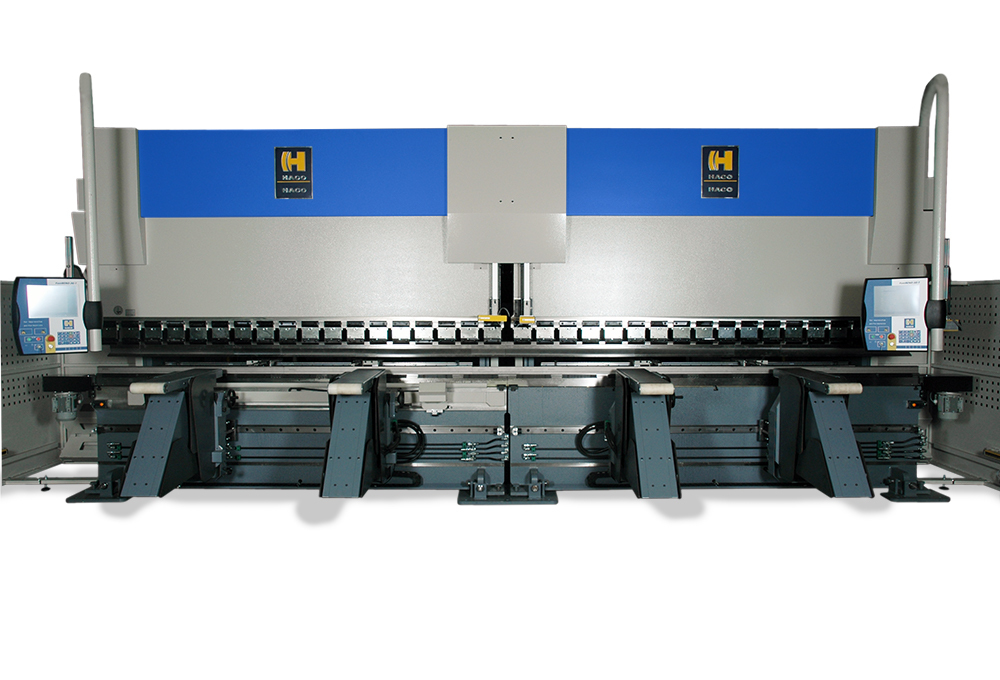 A custom designed press brake starting at 400T up to 1,200T - Haco