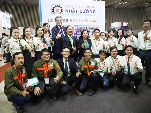 Nhat Cuong at Metalex: a great experience!